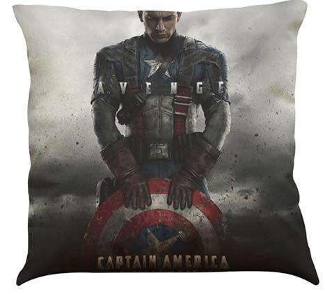Captain America Civil War Cushion 18 inch by 18 inch filled