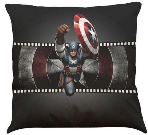 Captain America Civil War Cushion Flying Through The Air