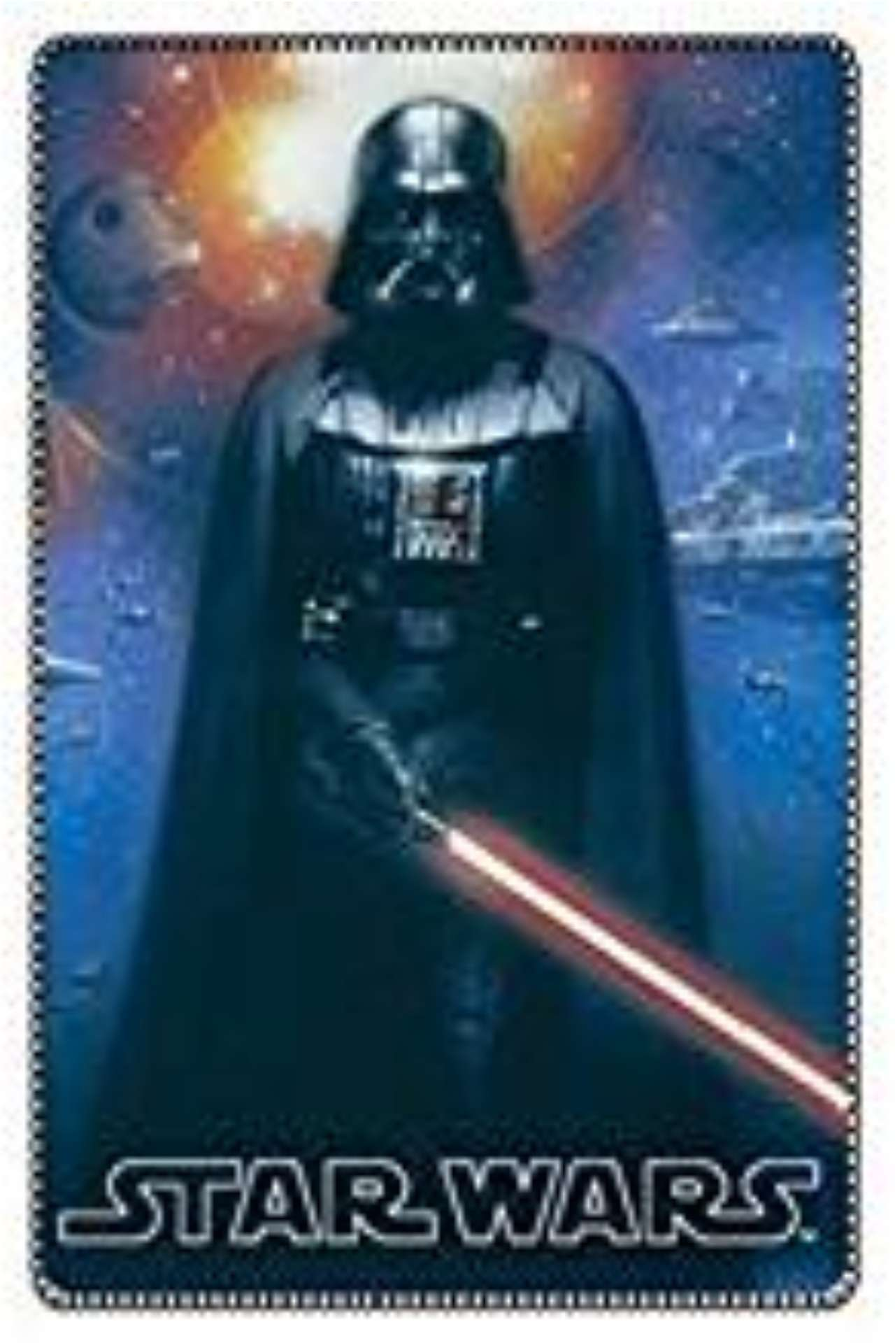 Official Disney Darth Vader Fleece blanket Return Of Darth Vader