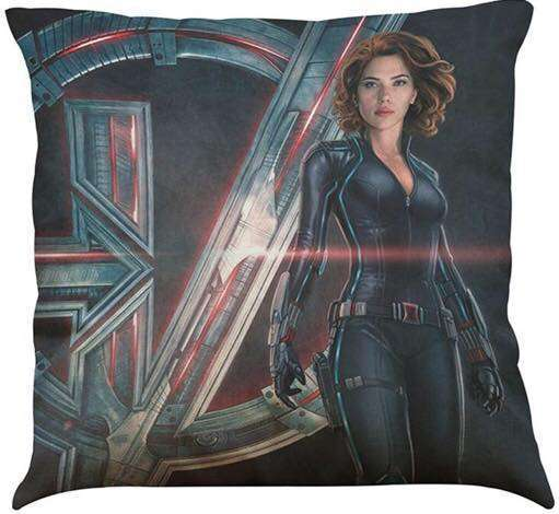 Marvel Avengers Black Widow Infinity War Cushion
