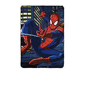 Official Marvel Avengers Spider-Man Fleece blanket Spider Shooting web