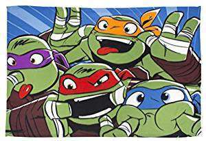 Official Teenage Mutant Ninja Turtles Funny Faces Fleece blanket