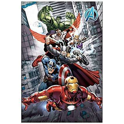 Marvel Avengers Soft Fleece Blanket Avengers Initiative