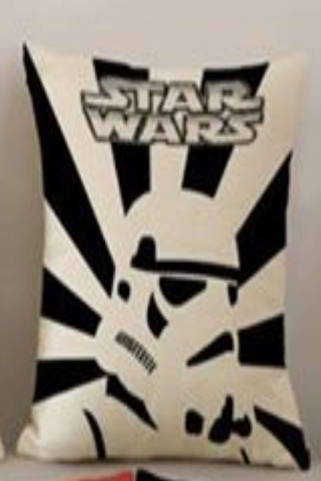 Disney Star Wars Trooper With Black And White Stripes Cushion