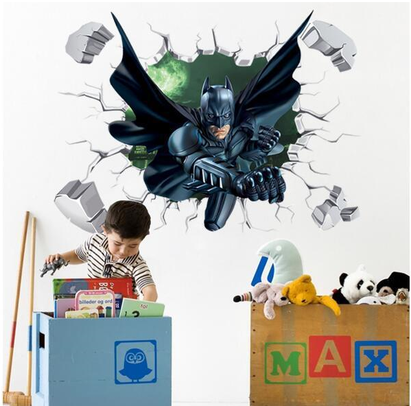 DC Universe Batman 3D Wall Art Decal Sticker