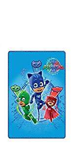 OFFICIAL DISNEY JUNIOR PJ MASK CATBOY OWELETTE AND GEKKO FLEECE BLANKET