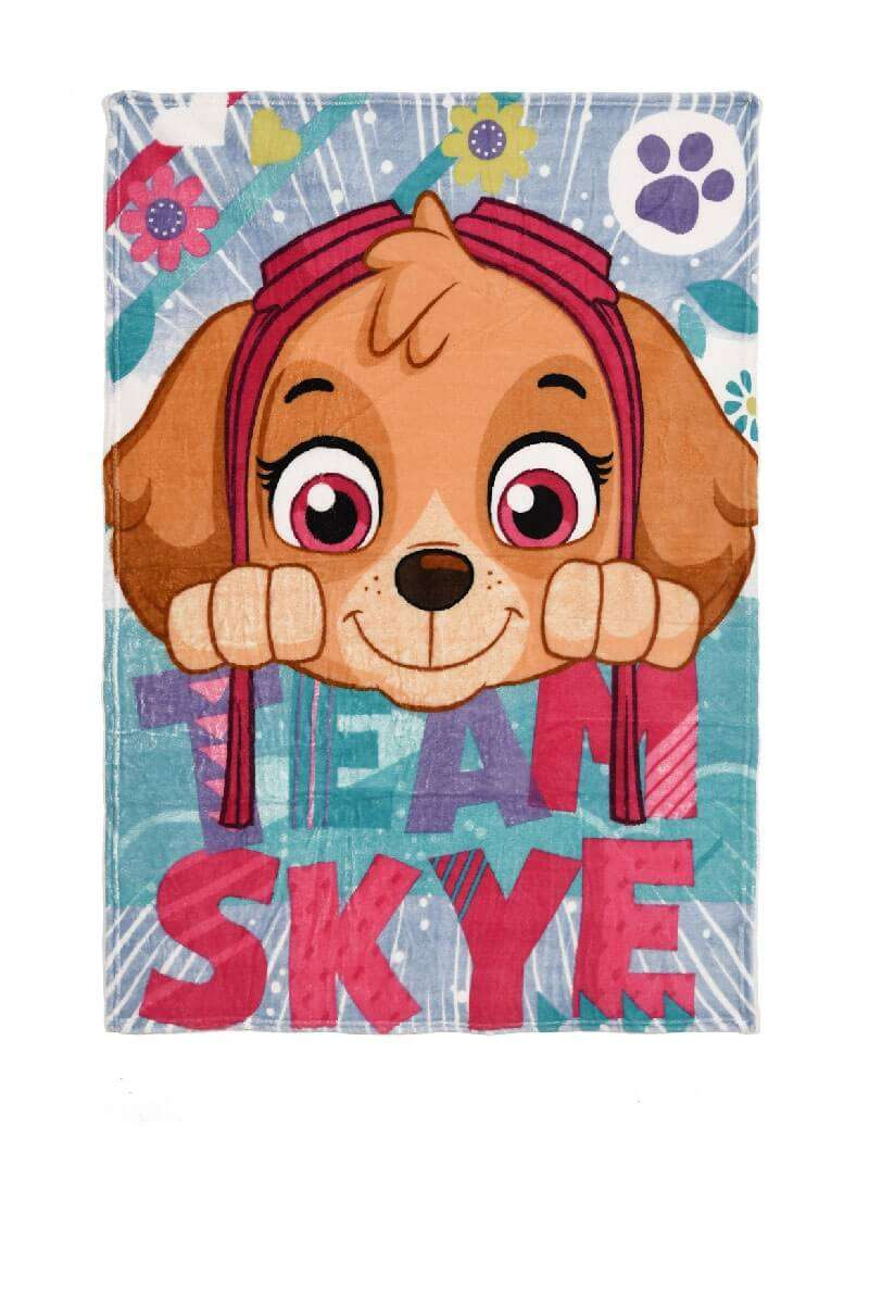 Official Paw Patrol Team Skye Fleece Blanket