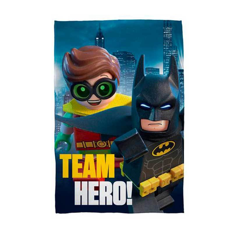 Lego Batman And Robin Fleece Blanket