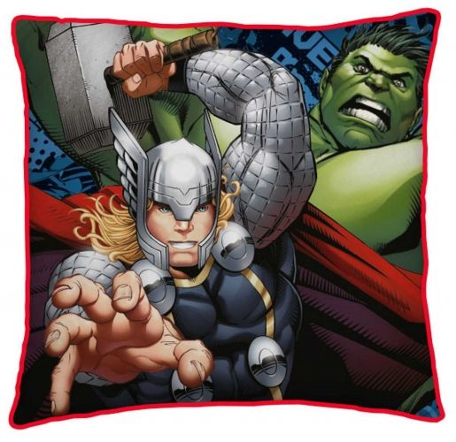 Official Marvel Comics Avengers Reversible Plump Cushion