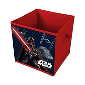 Star Wars Red Canvas Storage Box