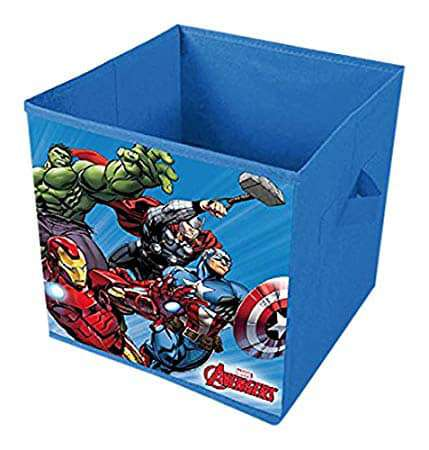 Avengers Blue Canvas Storage Box