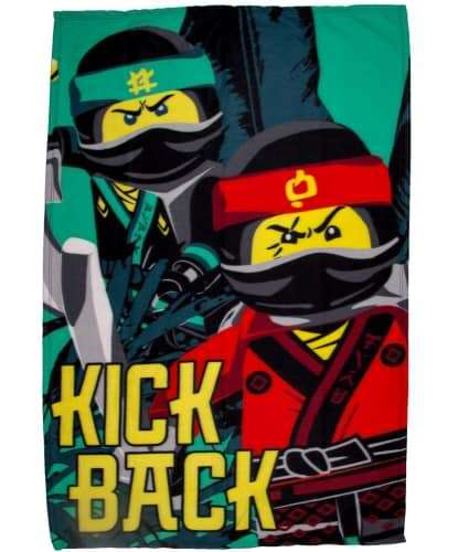 Lego Ninjago Movie Jungle Character Fleece Blanket