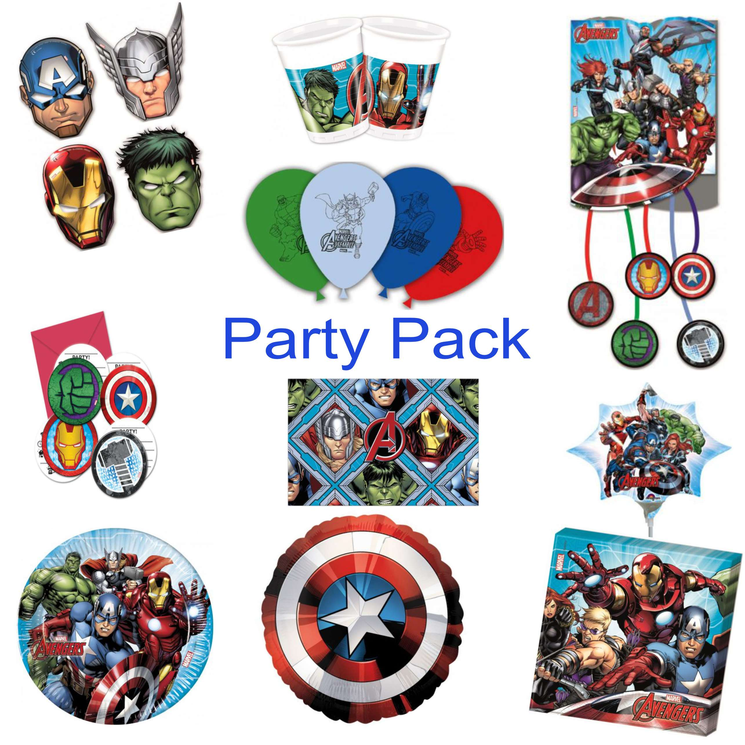 Avengers Party Decoration Pack