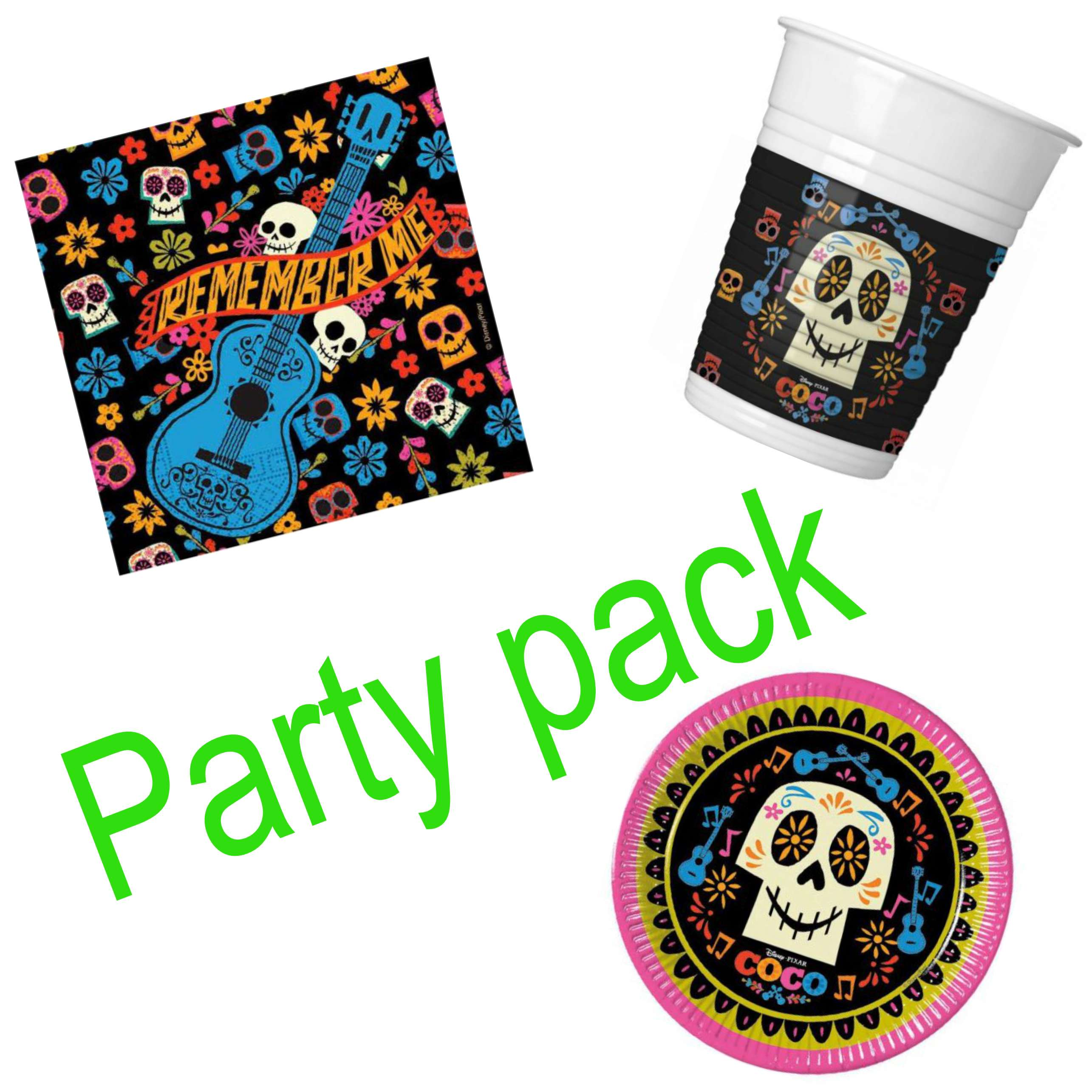 Coco Party Pack