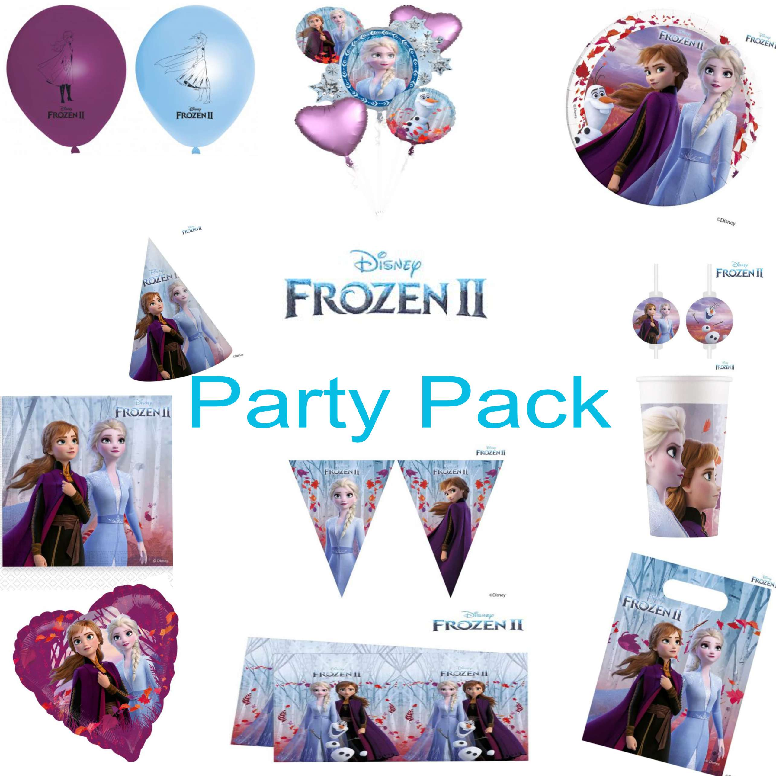 Frozen 2 Party Pack