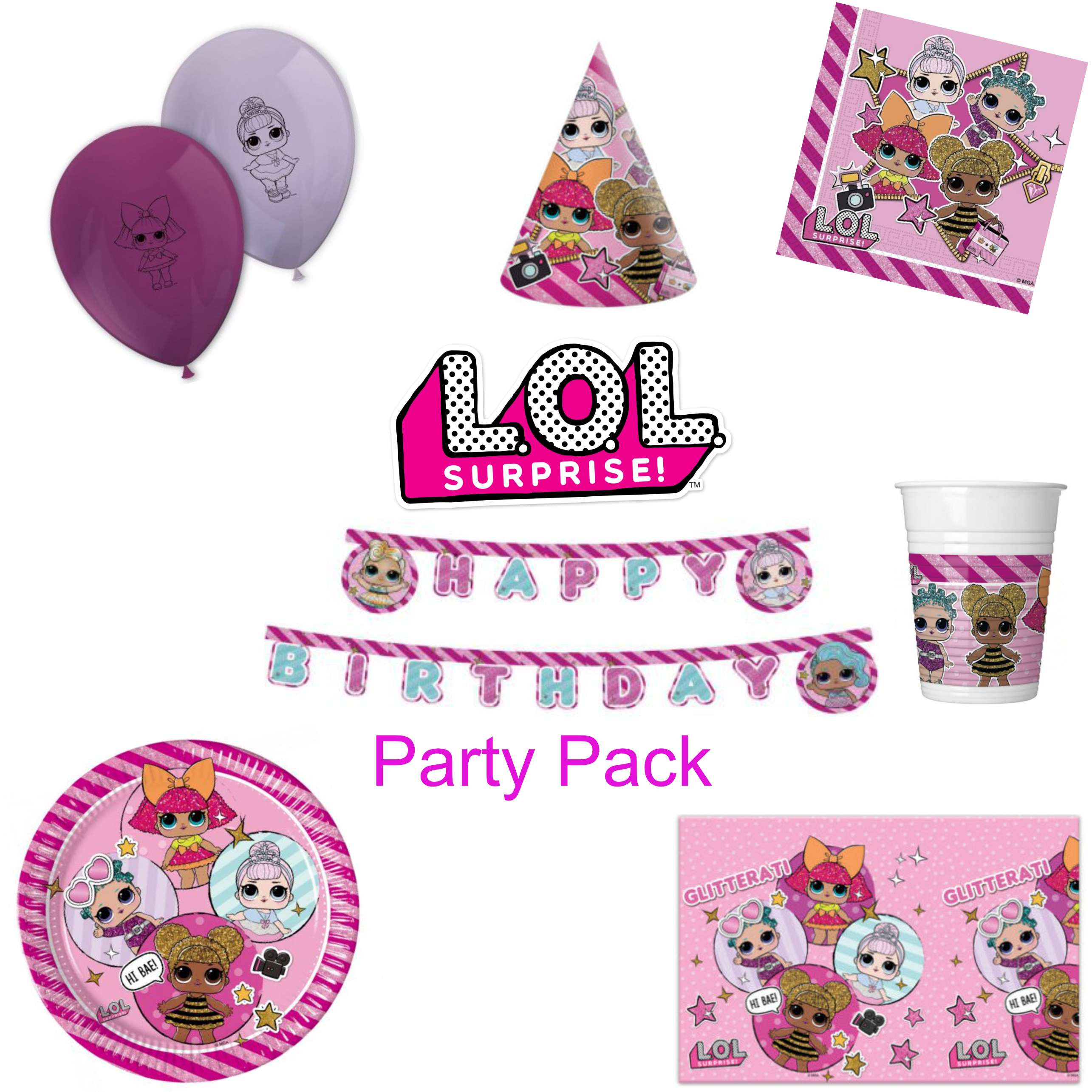 LOL Party Pack