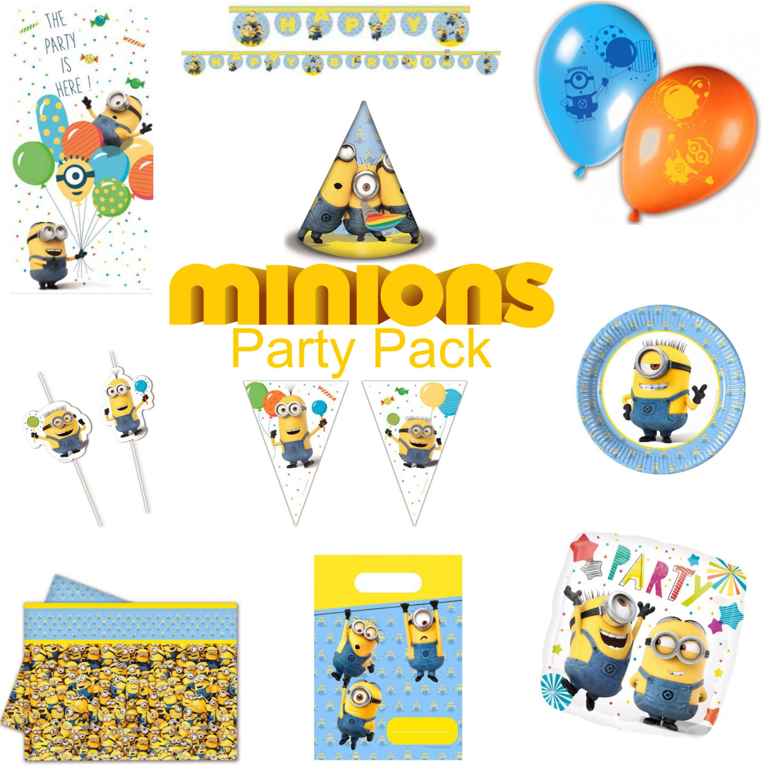 Minions Party Pack