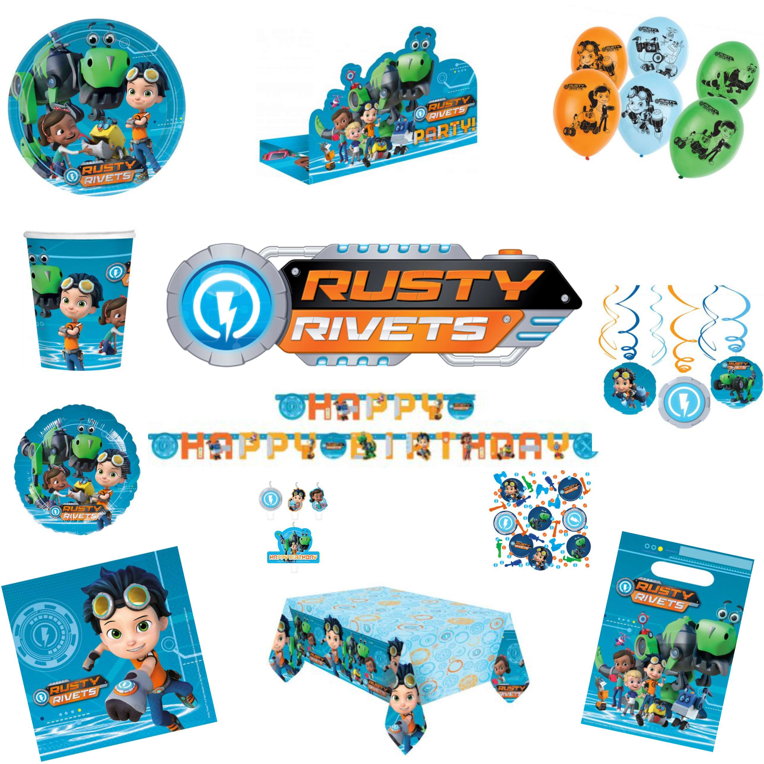 Rusty Rivets Party Pack