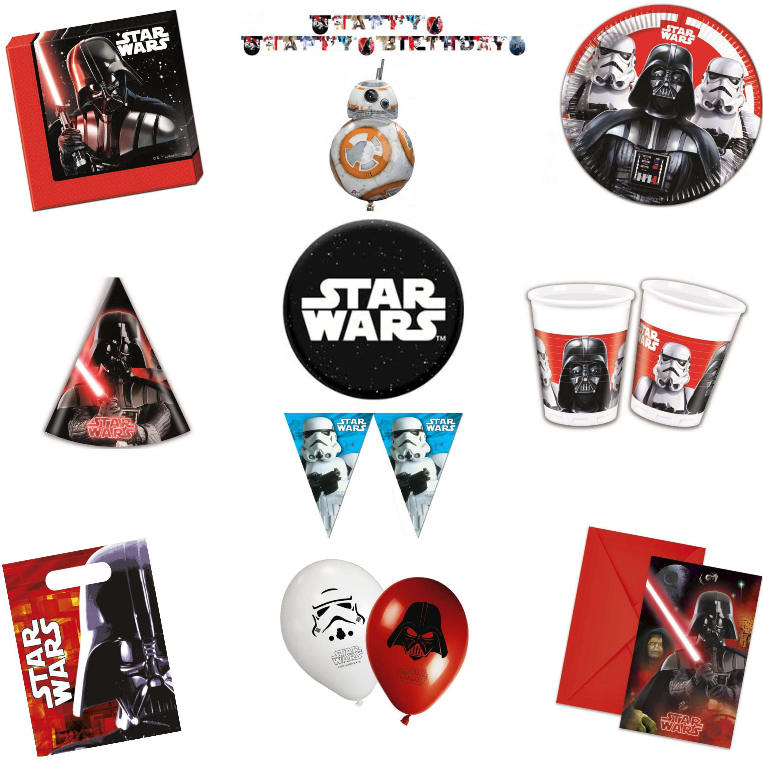 Star Wars Final Battle Party Pack