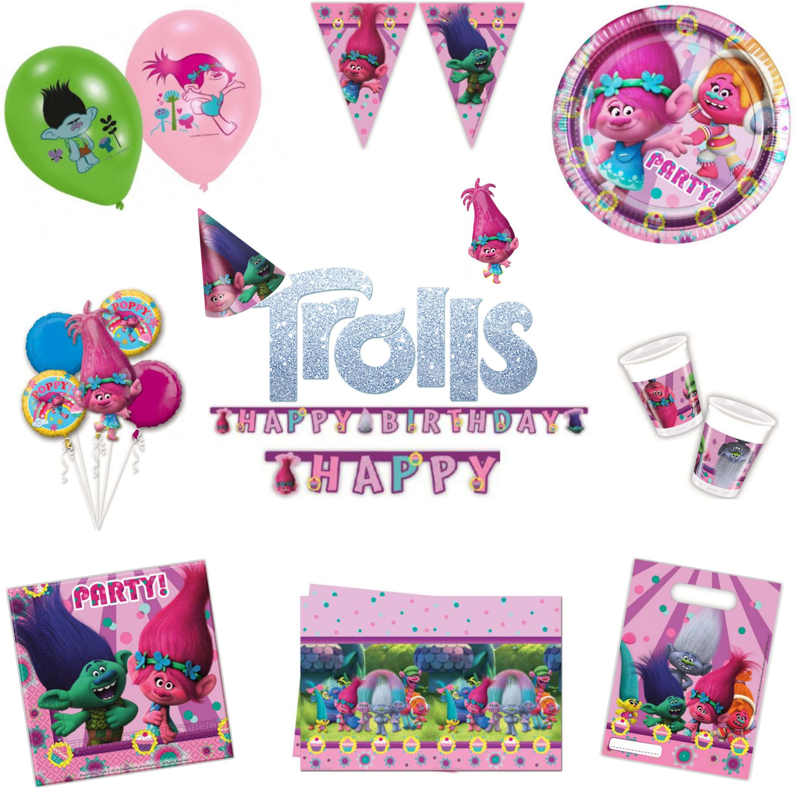 Trolls Party Pack