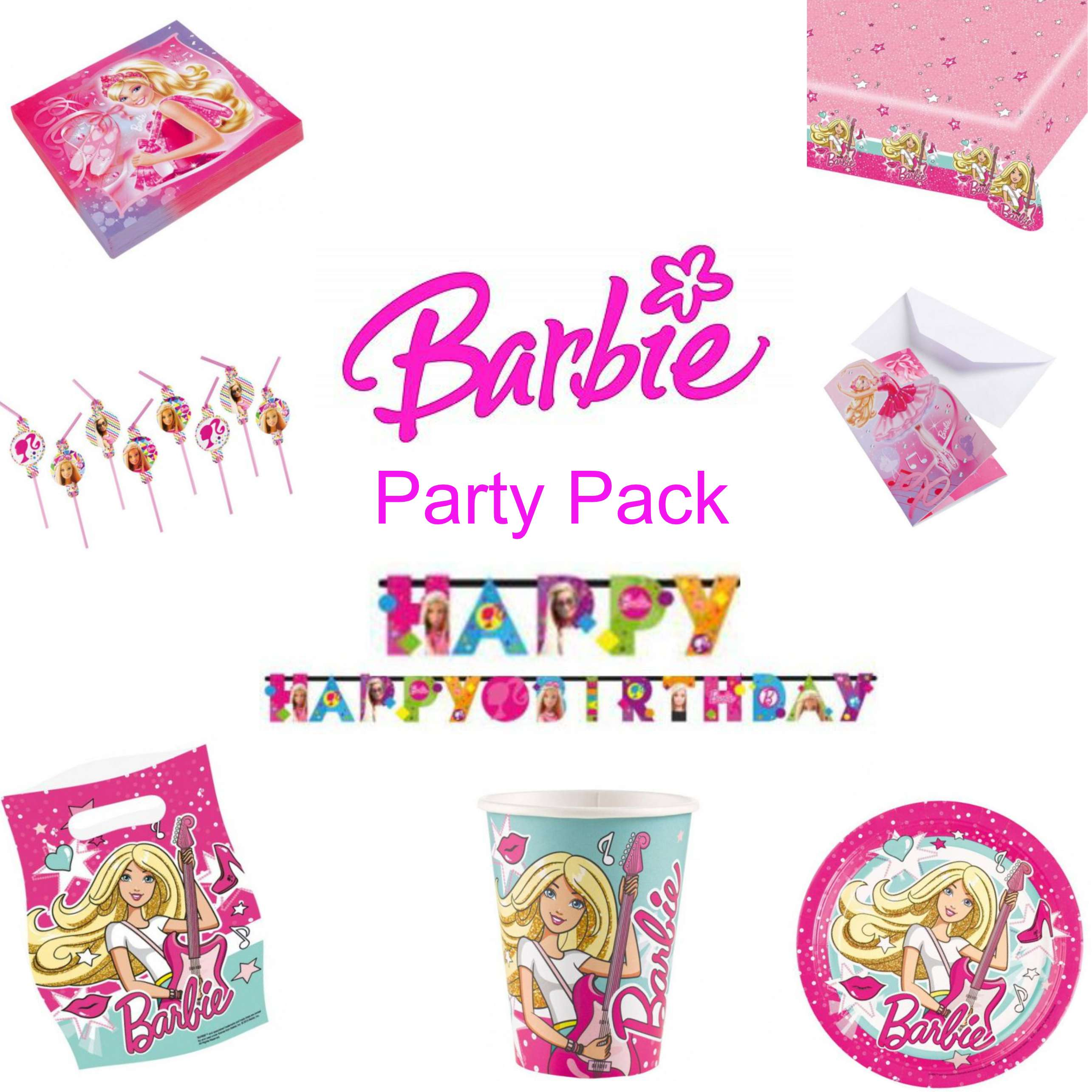 Barbie Party Pack