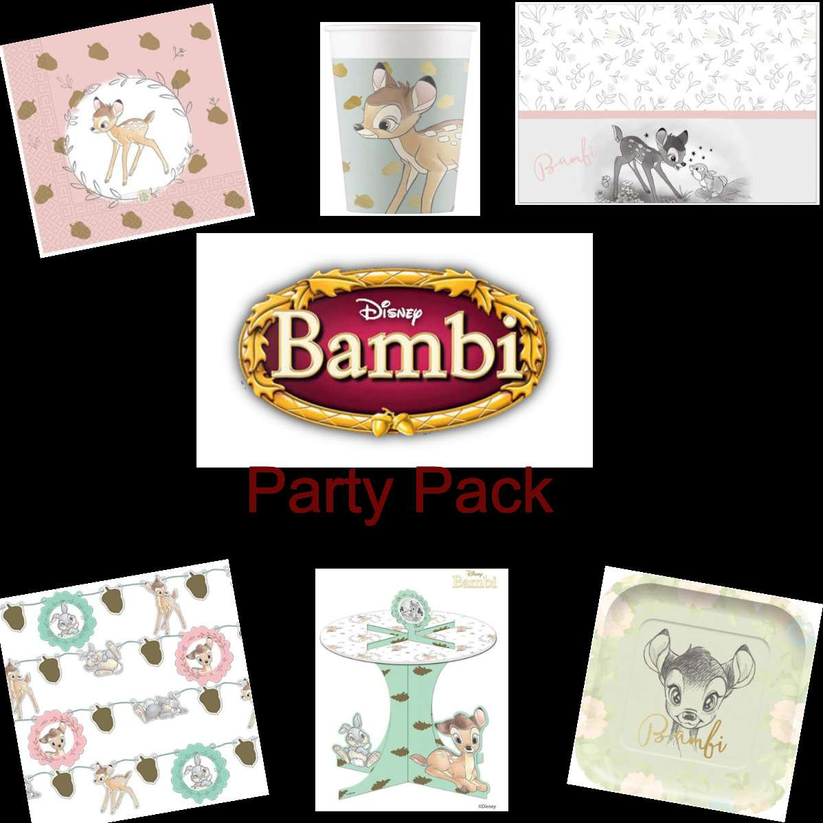 Bambi Party Pack