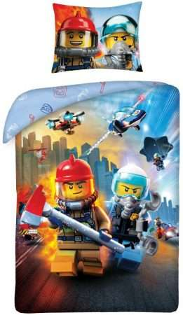 Lego City Fireman Duvet Cover Set