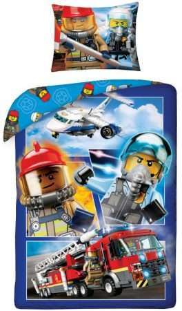 Lego City Pilot Duvet Cover Set