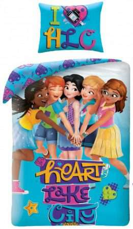 Lego Friends Duvet Cover Set