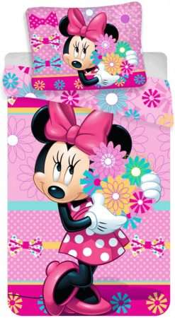 Minnie Mouse Flowers Bedding Set
