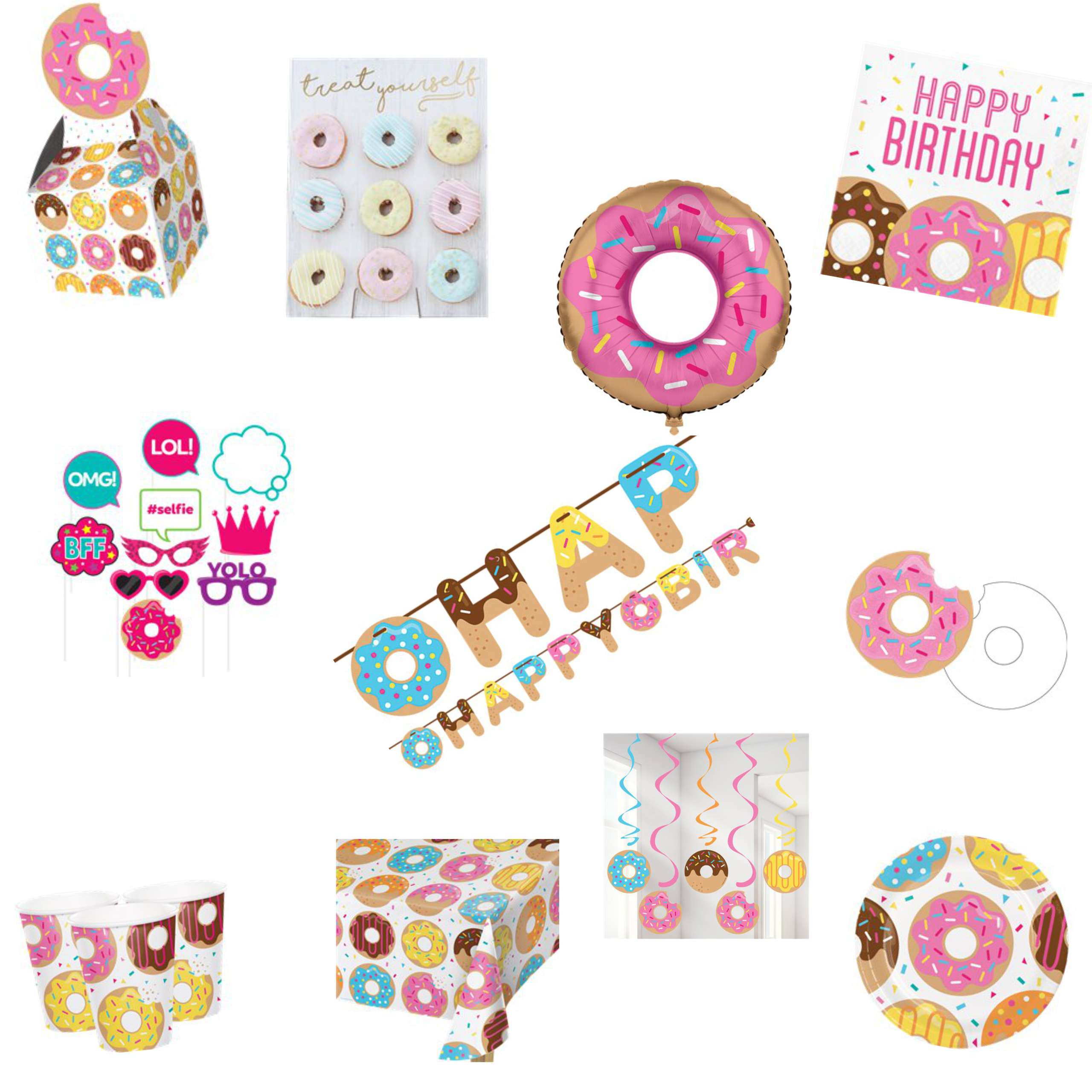 Doughnut Party Pack