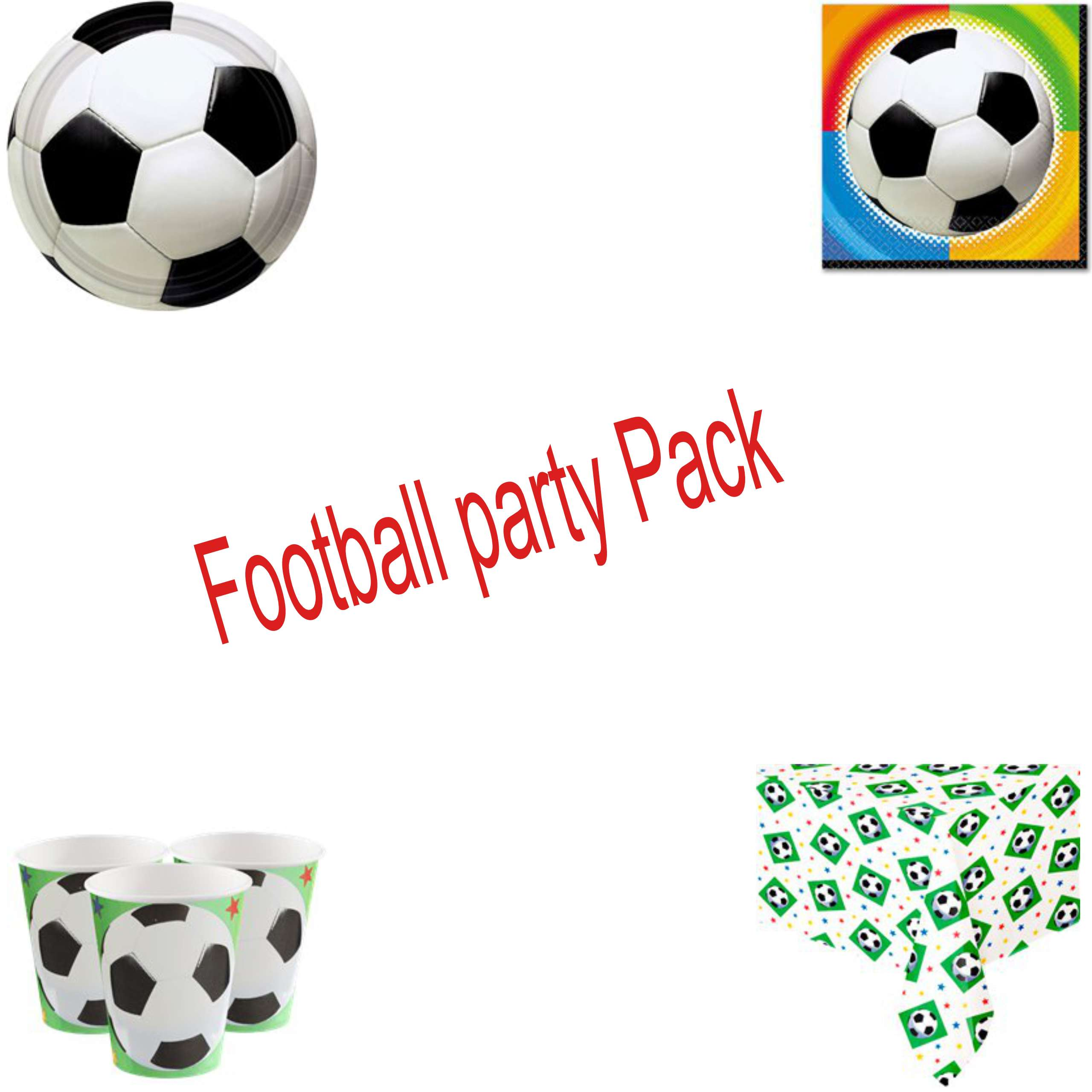 Football Basic Party Pack