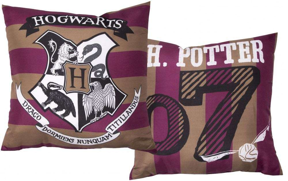 Official Harry Potter Stripped Cushion