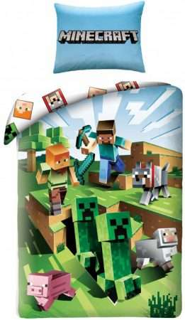 MineCraft Single Duvet Cover And Pillowcase