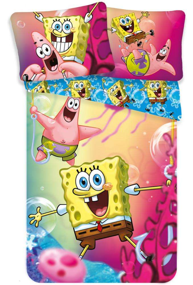 SpongeBob And Patrick Duvet Cover Set