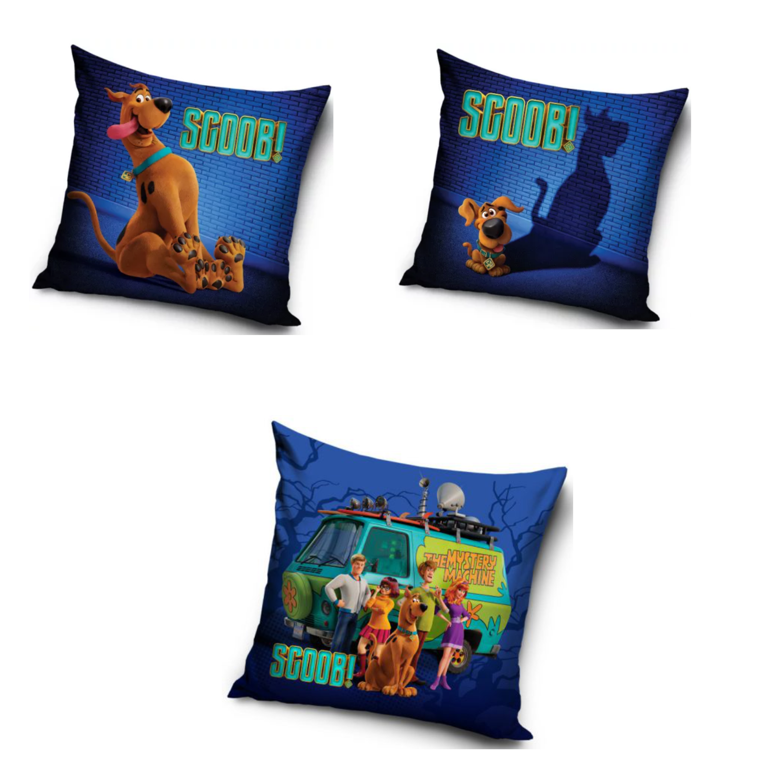 Scooby Doo Three Pack Cushion Set