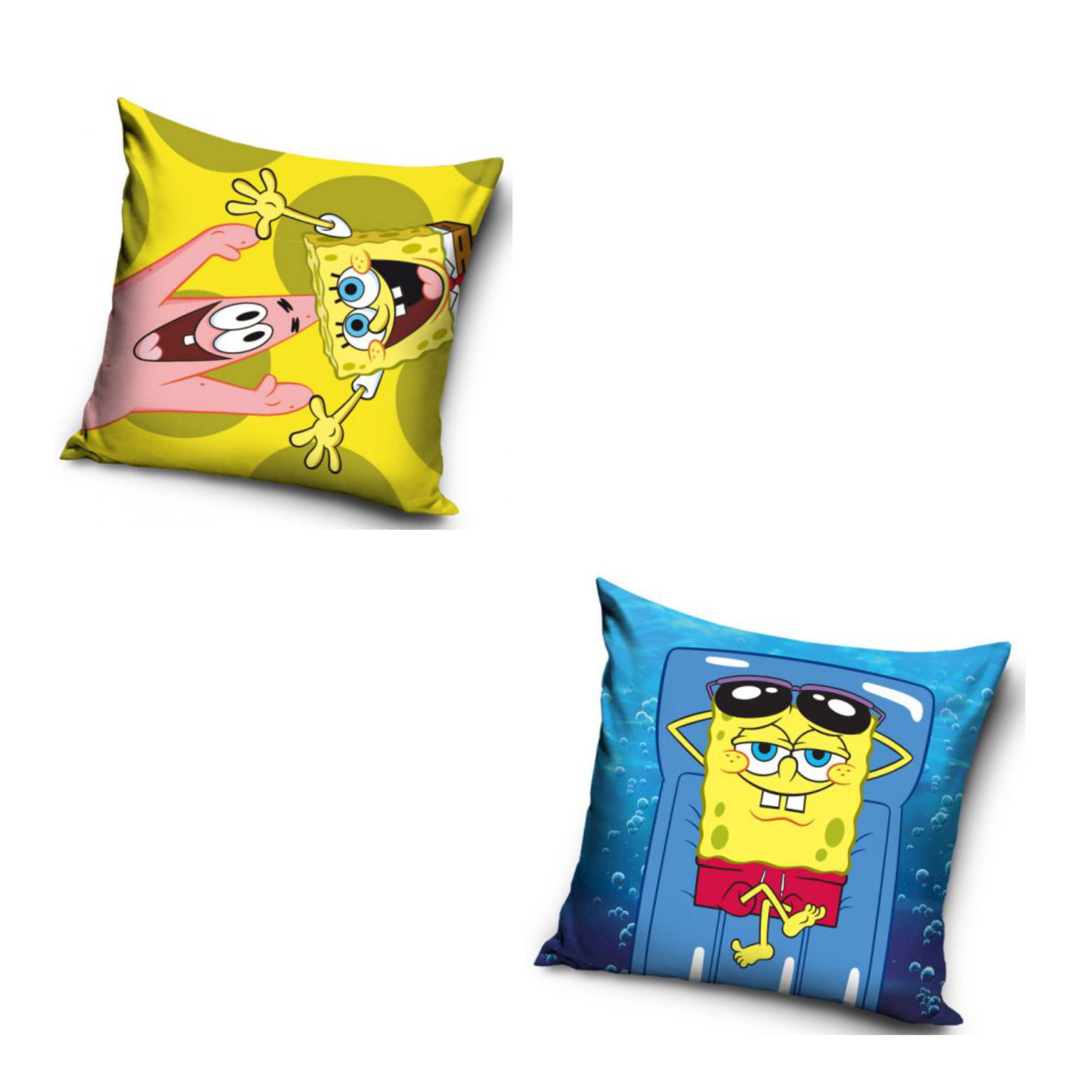 SpongeBob Square Pants Two Pack Cushion Set
