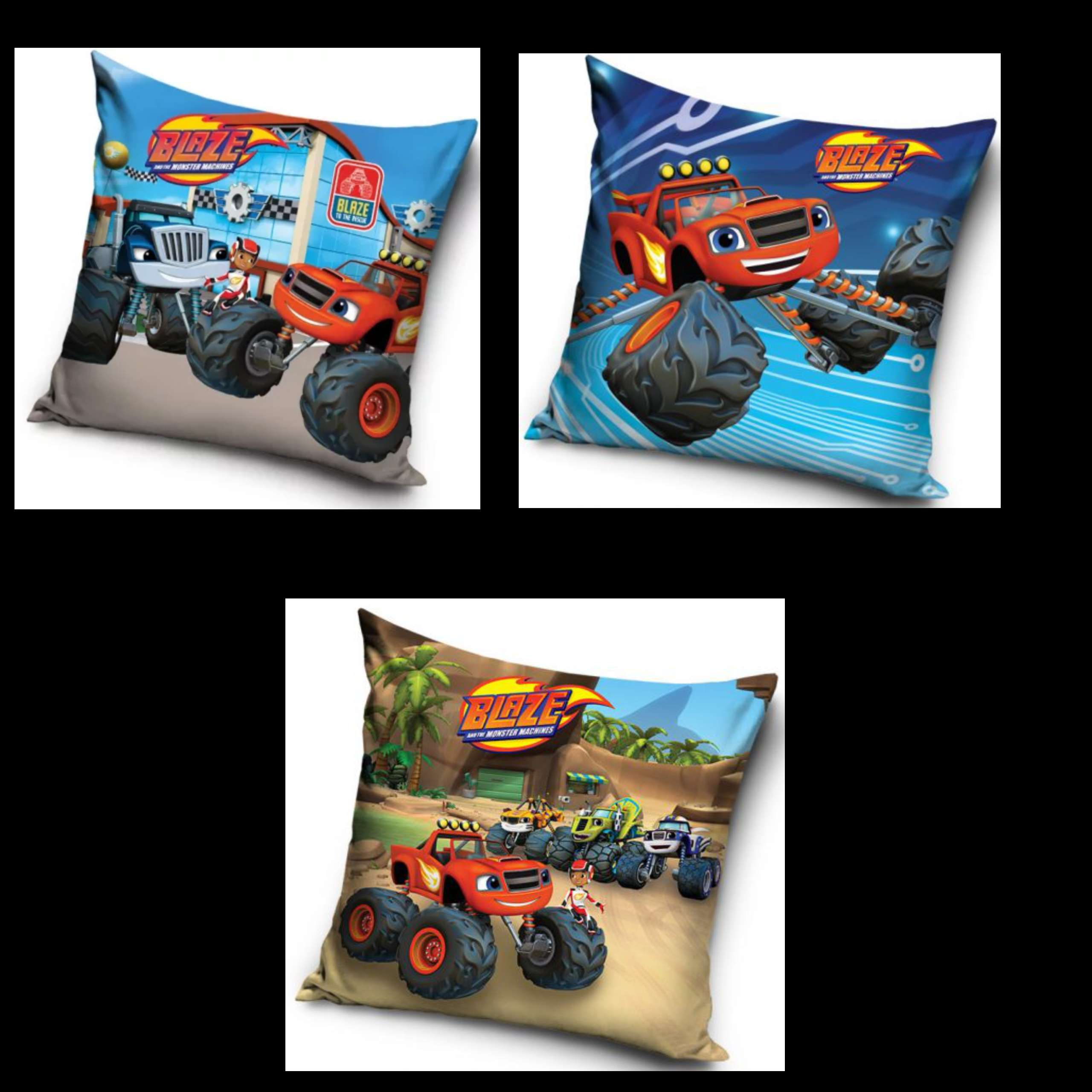 Blaze 3 Pack Cushion Set