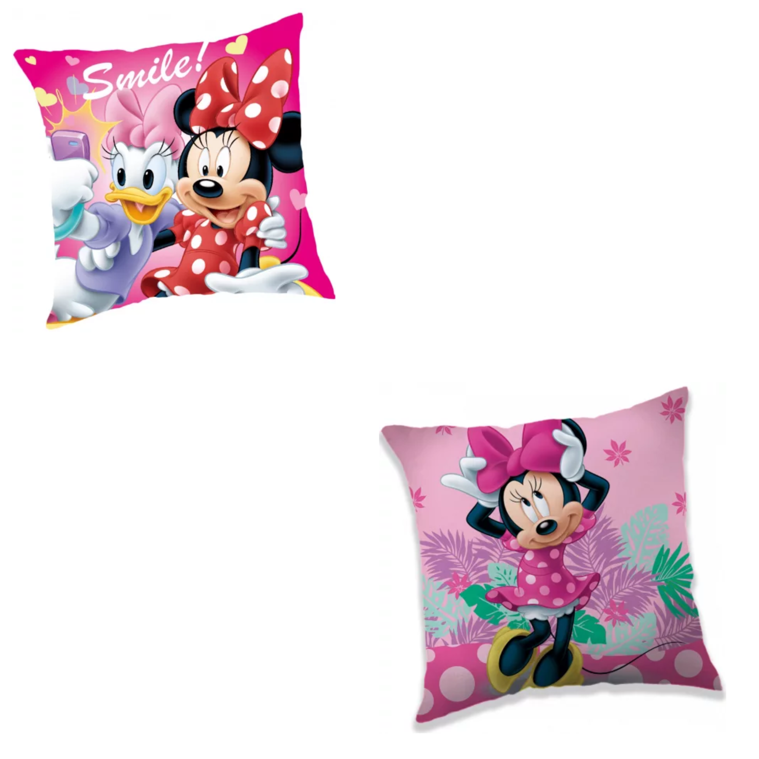 Minnie Mouse Smile And Minnie Big Bow 2 Pack