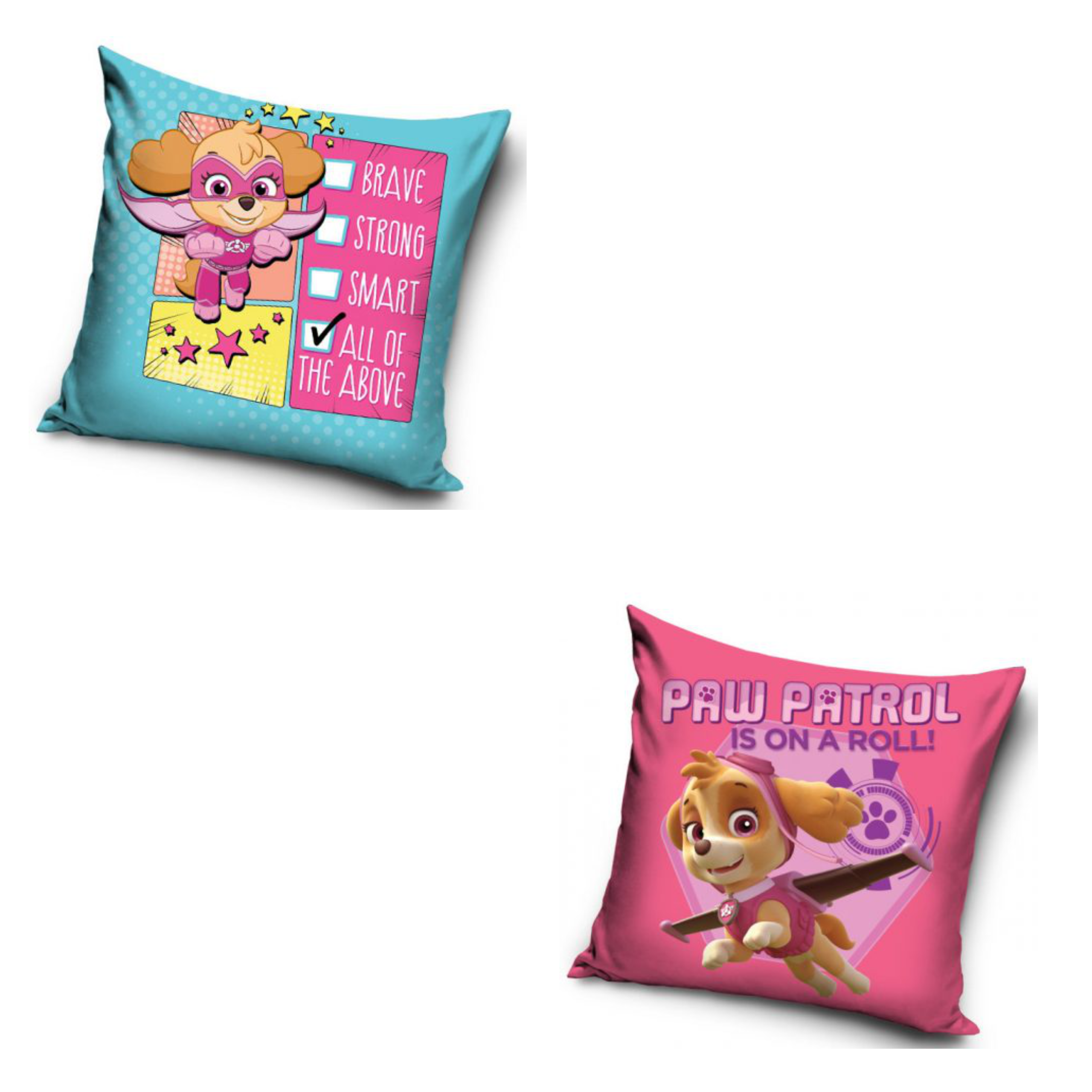 Paw Patrol Checklist And Paw Patrol On A Roll 2 Pack Cushion