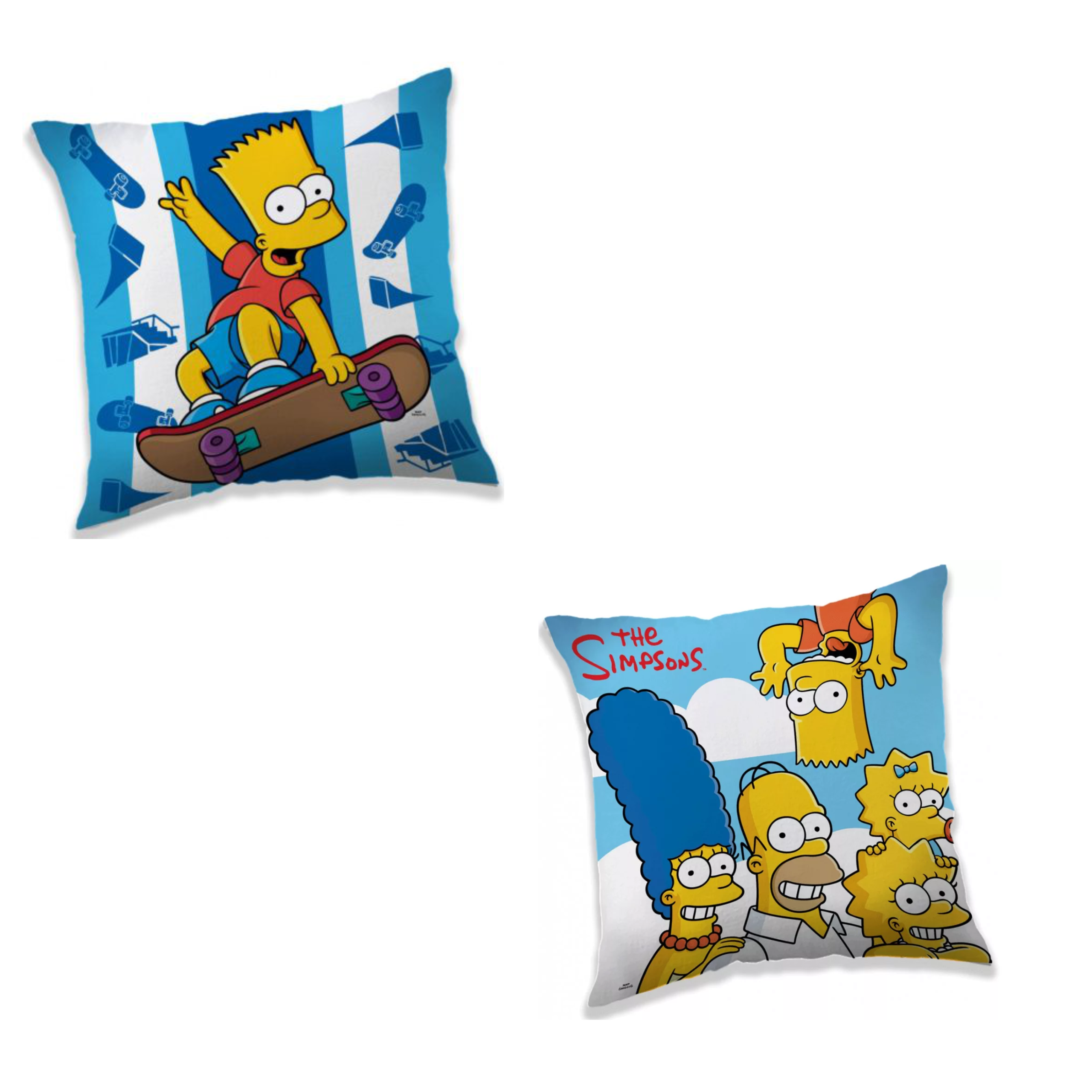 Simpsons 2 Pack Cushion Set